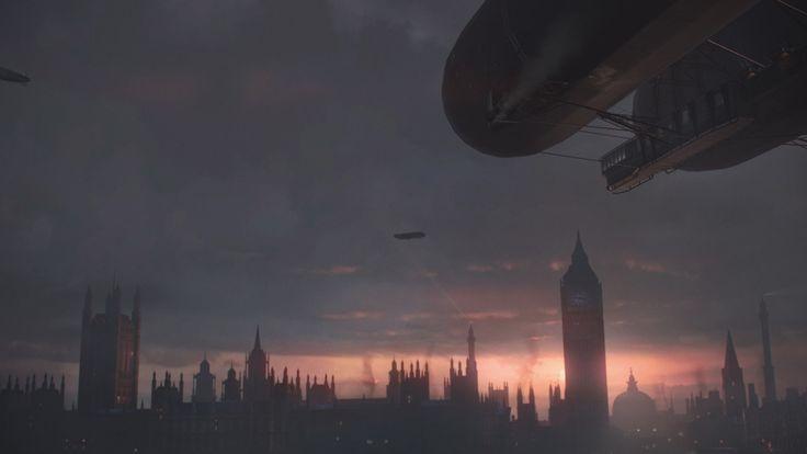 Die düstere Skyline von London!