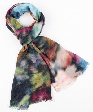 Vintage Floral Wrap Echo Scarves Fall collection