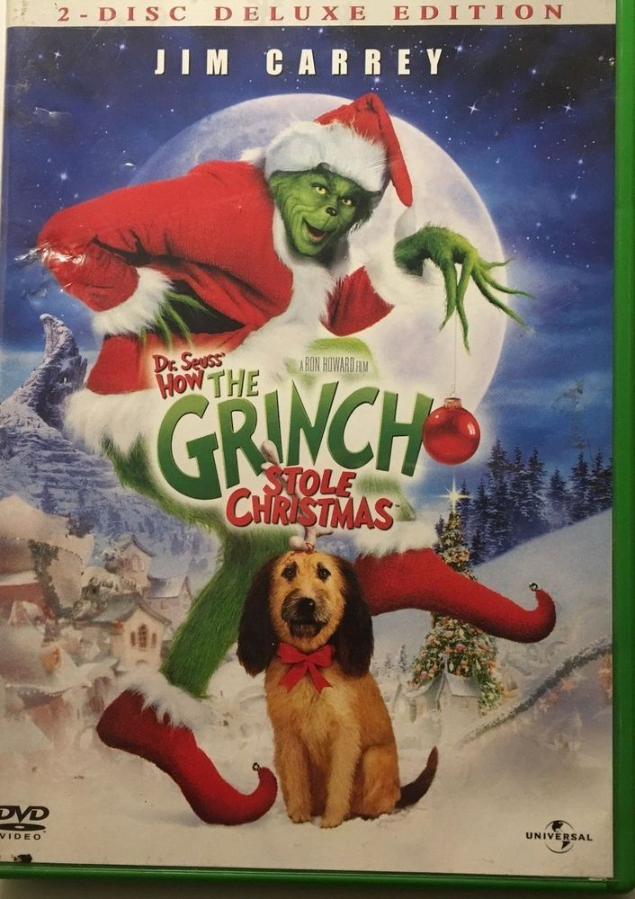 The Grinch Stole Christmas Dvd Classic Vintage Movie Cinama Action Kids Christmas Movies Funny Christmas Movies Best Christmas Movies