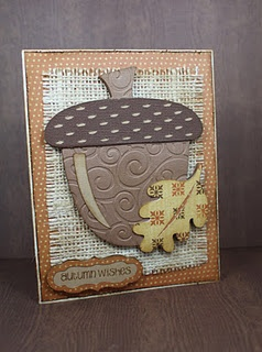 acorn--love; could be a bulletin board idea