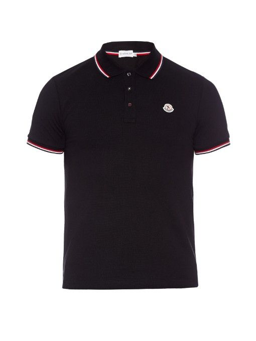 Moncler Grenoble Double Collar Polo