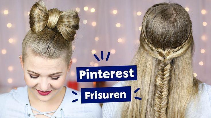 Zwei Schone Pinterest Frisuren Selber Machen I Dominokati Dominokati Frisuren Machen Pinterest Pinterest Frisuren Langhaarfrisuren Beliebte Haarschnitte