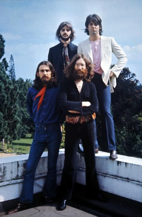 The Beatles' final photo session together, at Tittenhurst Park - The Beatles