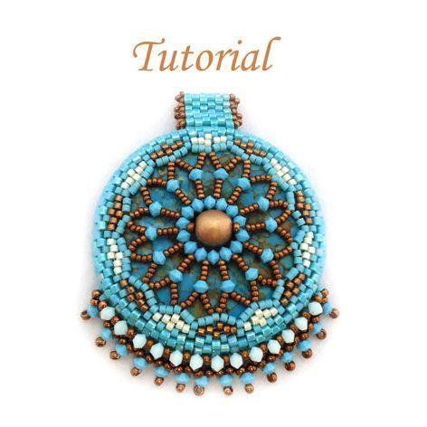 Donut Mandala Pendant | JewelryLessons.com