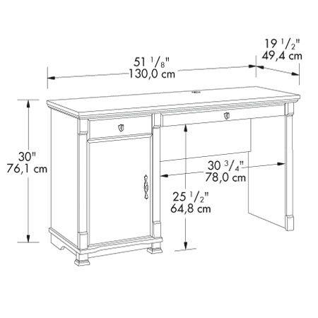 Computer Table Height | Computer table, Computer table ...