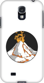 Volcano! Galaxy S4 case - by herker $31.50