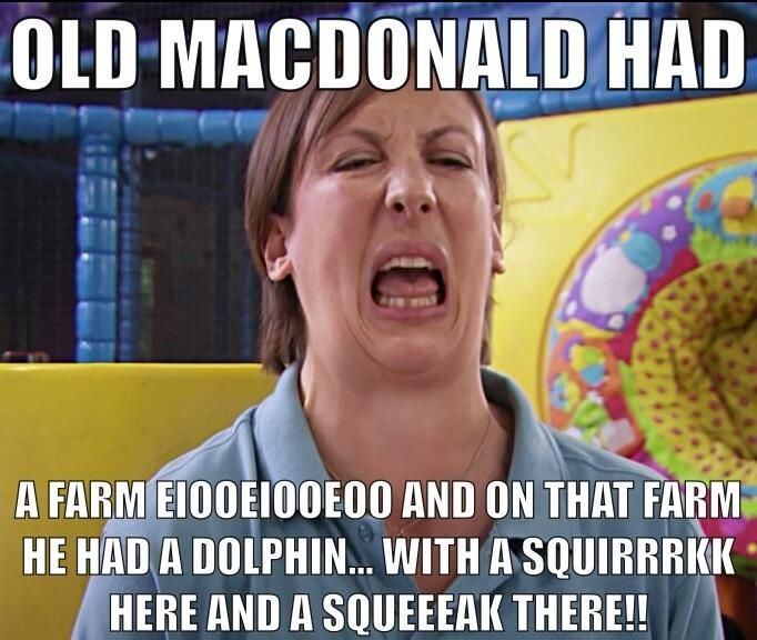 Twitter / Bradz505: Old McDonald had a farm... ...