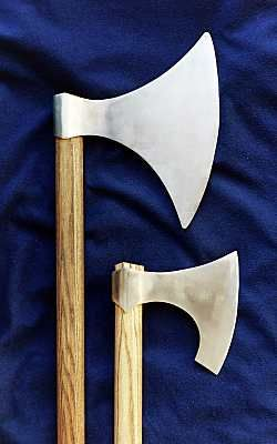 one of my personal favorites, the Viking Axe. Not subtle but subtle is so over-rated.