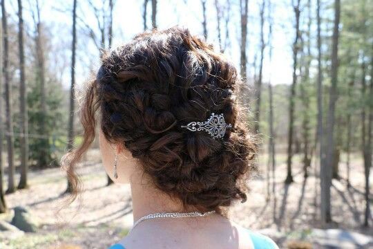 weave mohawk hairstyles : ... formal hairstyle for prom updos Pinterest Vintage love, Formal