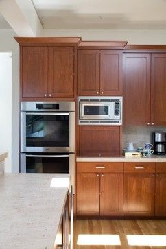 Kitchen Cabinets With Microwave Design Ideas, Pictures, Remodel, and Decor - page 8