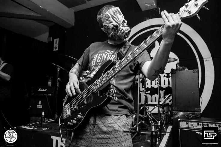 Cicero Carstens bassist of #Boargazm. South African Metal Bands.  Intergalactic space metal