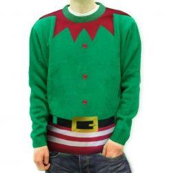 #Sweter #Elf jest idealny na #Święta, doskonały by zrobić komuś przyjemność udanym #prezentem. http://swetryswiateczne.pl/pl/