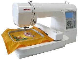 Bordadora Janome MC200E | Janome Uruguay