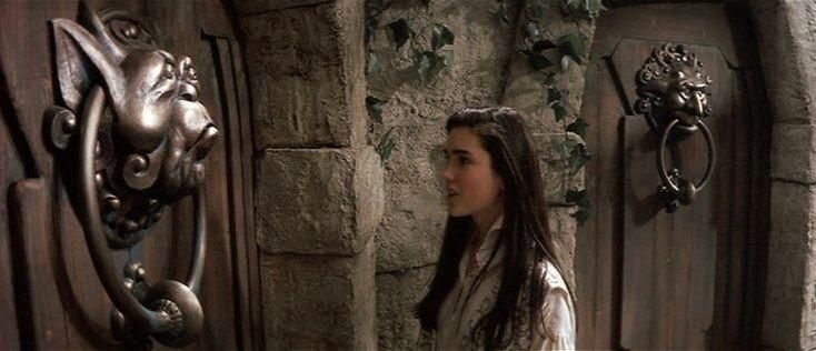 Labyrinth door knocker!