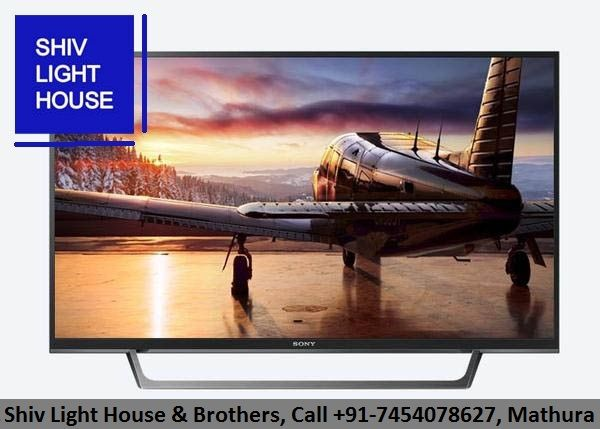 #Offering ultra-clear full #HD #pictures, This 32-inch #SONY #Smart #TV is designed to #enhance your TV-viewing experience. #Available at @shivlighthouse.mtr Call +91-7454078627 Showroom at #Mathura.