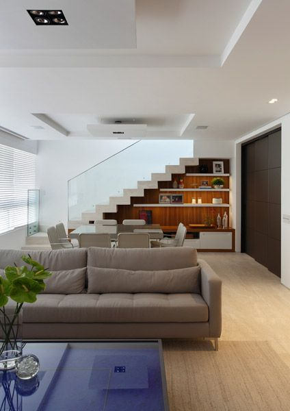 Espaço da escada