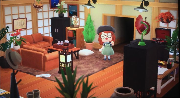Cozy living room in 2020 animal crossing dress up games