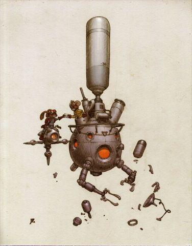 FFFFOUND! | The Hand Off by JakeParker - Jake Parker - CGHUB