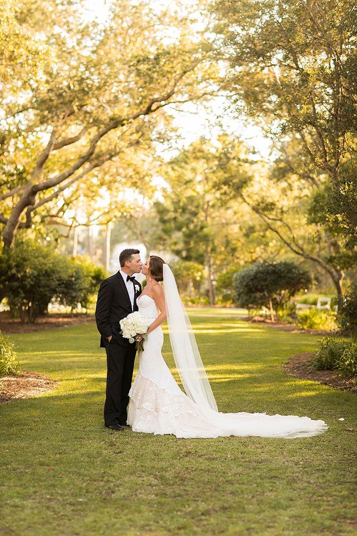 Romantic Florida Garden Wedding    #wedding #weddingday #aislesociety #glam #luxewedding #weddingdress #bride #brideandgroom