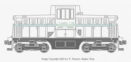drawings of the GE 44 ton diesel - Google Search