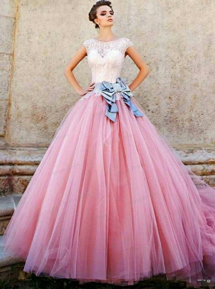 Mejores +200 imágenes de Barbie Pink Wedding n Quinceanera Gowns en ...