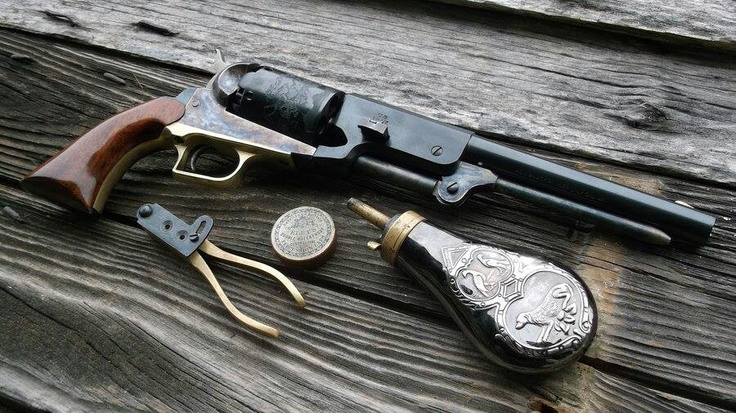 Colt walker 1847Weapons Revolvers, Colts Revolvers, Guns,  Six-Gun,  Six-Shoot