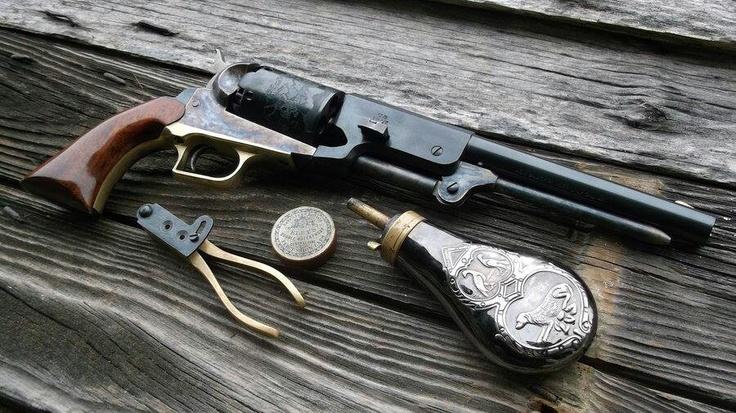 Colt walker 1847Weapons Revolvers, Colts Revolvers, Guns,  Six-Gun,  Six-Shoot