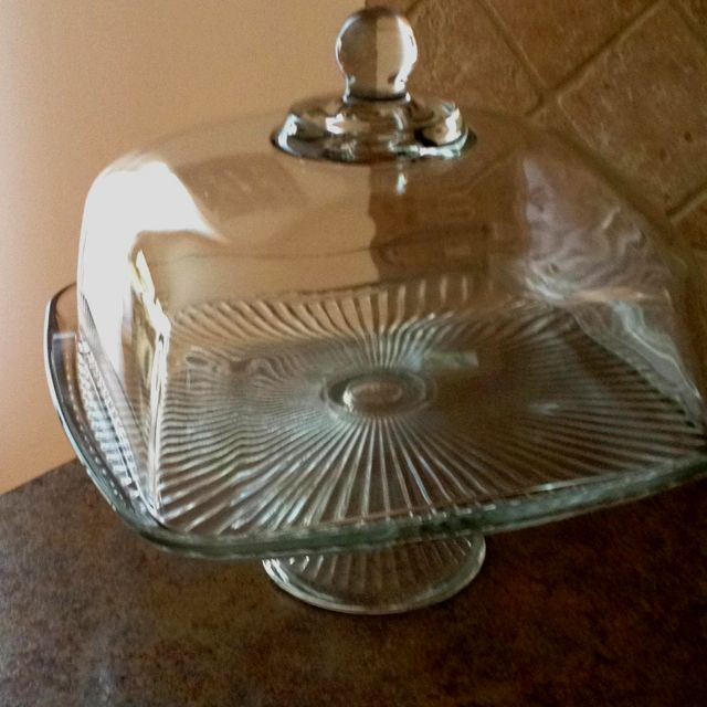 Square Acrylic Cake Domes