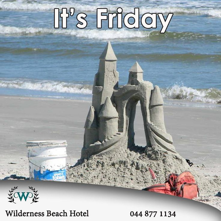 It's Friday and time to have fun on the beach. Wilderness Beach Hotel wishes everybody a fabulous weekend building your own sandcastles. #fridayfun #destinations #sandcastles