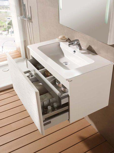 Mueble de lavabo con cajones: modelo Emma, de Gala