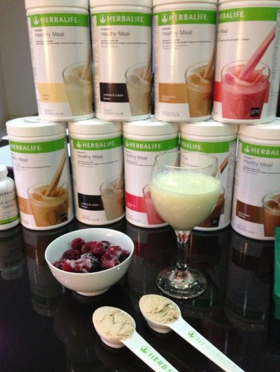 Herbalife protein shakes - Lots of flavors to choose from