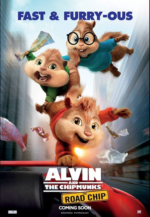 25th Dec 2015 : Holiday Movie Alvin & the Chipmunks Road Chip @ GV Plaza Singapura with Bestie