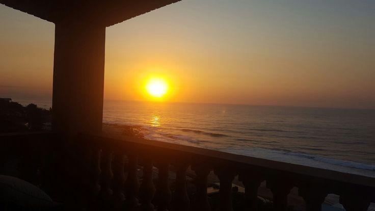 Sheffield beach ballito  sunrise