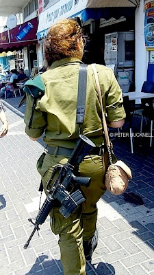 Israeli army shopping