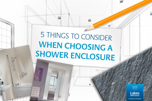 5 Top Tips for Choosing the Right Shower Enclosure  #top #tips #guide #howto #choosing #choice #shower #enclosure #bathroom #design #home #improvement #renovation