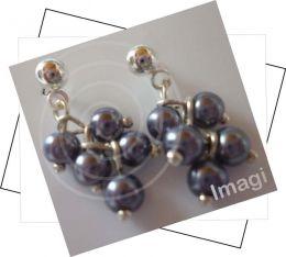 TPP00000010 Fantasía elaborados perlas de vidrio