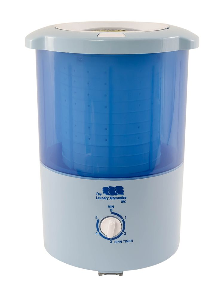Countertop mini spin dryer
