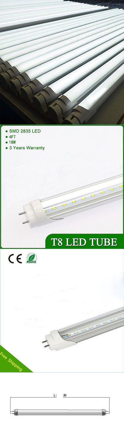 Light Bulbs 20706: 100Pcs 18W 4Ft Cool White T8 Led Tube Light Bulb Fluorescent Replacement Lamp -> BUY IT NOW ONLY: $399 on eBay!