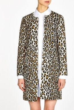 Raffia Leopard Duster Coat by Sea NY My Wardribe  715 Product code 221268