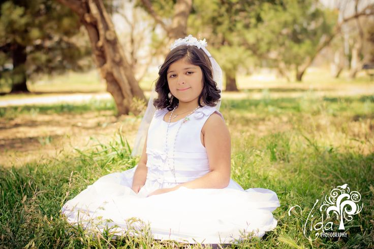 First Communion-Outdoor Photography...my sweet niece-by Rosanna Castillo
