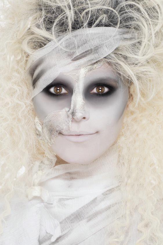 #mummy makeup                                                       …