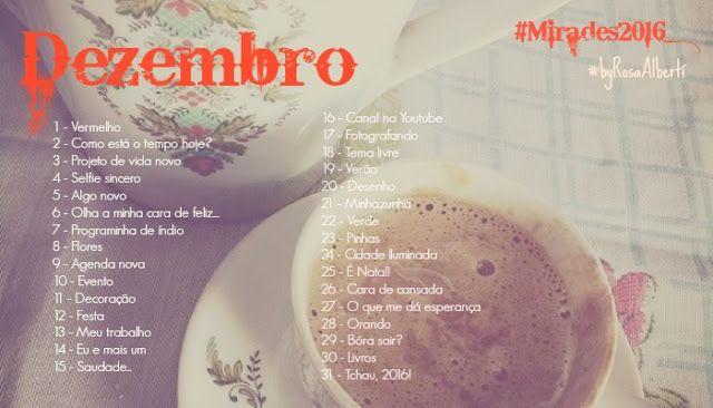 A menina rosa - A vida em micro contos!: #Mirades2016 #byRosaAlbertí #Dezembro