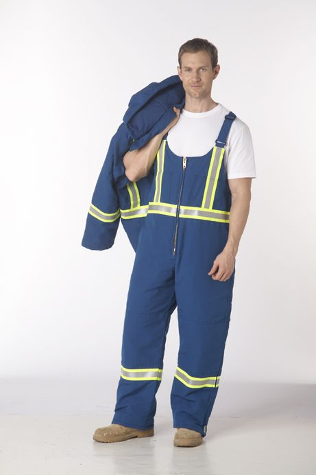 Indura ultra-Soft FR Cotton/FR Modacrylic Quilt Lined Bib Pant : Built-in flame resistance provides outstanding protection as well as being a light weight comfortable garment.   Shell: 88% Cotton (FR Treated), 12 Nylon - 9oz Water repellant  Lining: 100% Cotton (FR Treated), 10oz lining quilted to 100% FR Modacrylic with Breathable Vapour Barrier