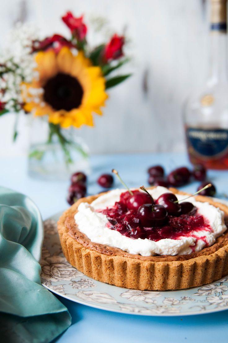 Cherry-frangipane-tart