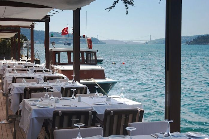 Good morning from Istanbul...  Happy weekend! How about picking your sunday brunch seat from Lacivert, that has one of the best views of Bosphorus?   For more information about the restaurant and to book your table you can visit...  http://www.istanbulfind.com/en/bosphorus-restaurants/lacivert-restaurant/847