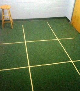 """Human Tic Tac Toe is just a fun spin on regular Tic Tac Toe.  Create a grid on the floor using masking tape.  Must make your squares big enough for a child to comfortably stand inside.  Divide the children into two teams.  Children wear an """"X"""" or """"O"""" on a necklace.  You can make them neatly on a Cricut machine or a die cut machine.  Just use a hole punch in the top of the """"X' or """"O"""" and string it with a piece of yarn or string.  A child must answer a Bible question... Kids would love this!"""