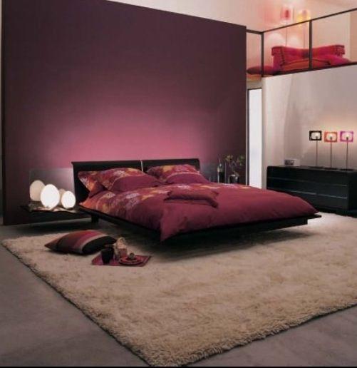 1000 id es sur le th me chambres couxher zen sur pinterest chambres d co - Chambre adulte violet ...