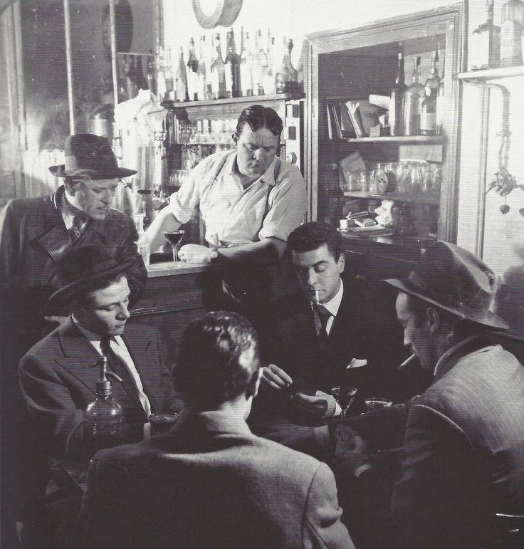 Roger Schall- Au bistrot Le Vieux chalet, Paris, 1939