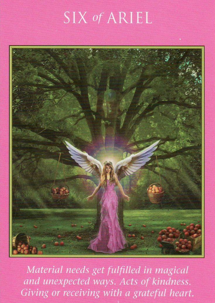 6 of arielarchangel power angel cards archangel power