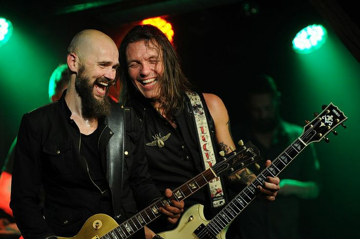 Electric Guitars | Søren Andersen & Mika Vandborg Det Bruunske Pakhus i Fredericia. 7. februar 2014.